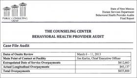 AG Releases New Portion Of Health Audit