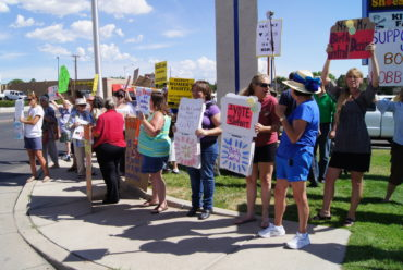 Supreme Court's Hobby Lobby Ruling Sparks Protest In Albuquerque
