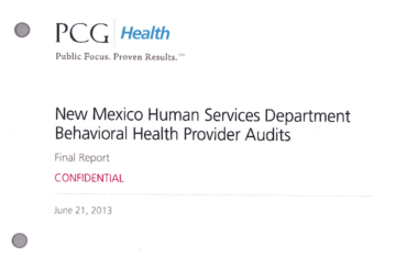 AG Releases Behavioral Health Audit