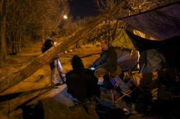 Combing The Streets To Survey Homeless People