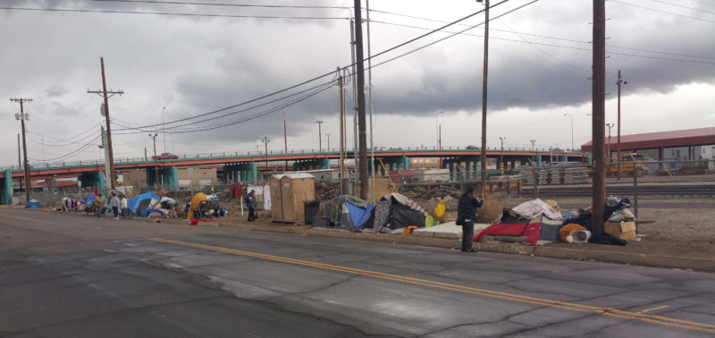 Tent City Residents Face Deadline