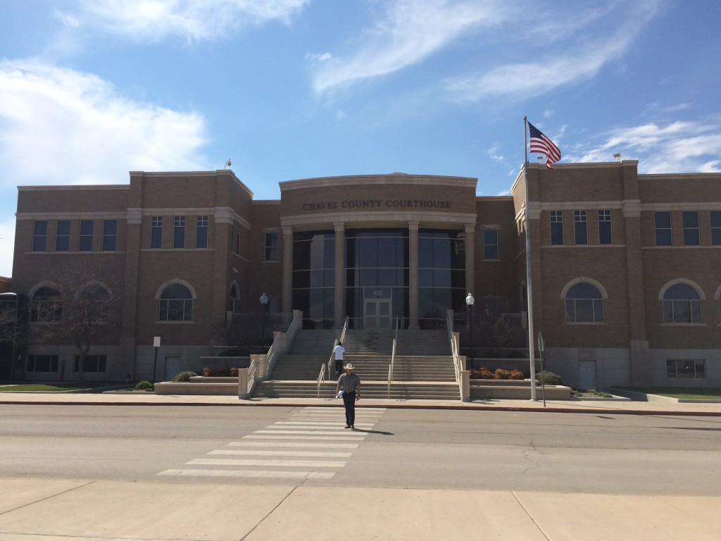 Fifth Judicial District Court in Roswell Credit Marisa Demarco / KUNM
