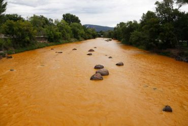 Animas River Spill Photos