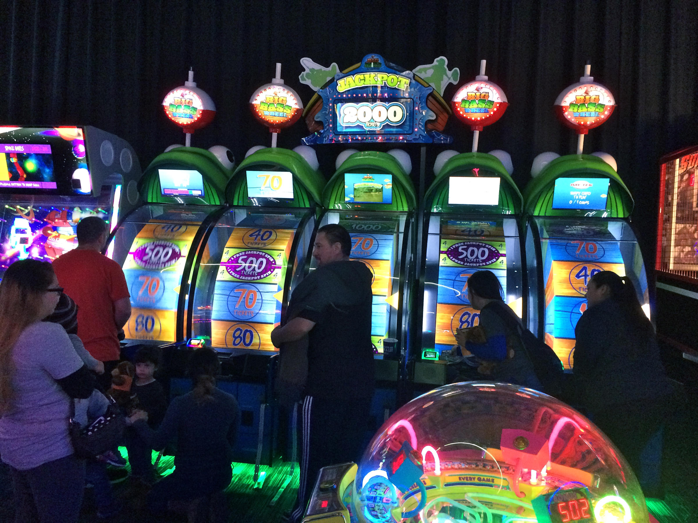 Inside Dave and Buster's Credit Marisa Demarco / KUNM