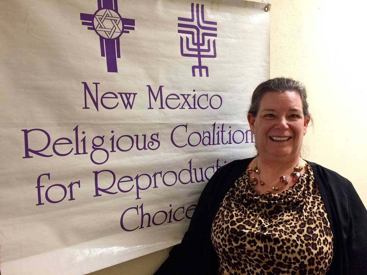 Joan Lamunyon Sanford, executive director for the New Mexico Religious Coalition For Reproductive Choice MARISA DEMARCO / KUNM