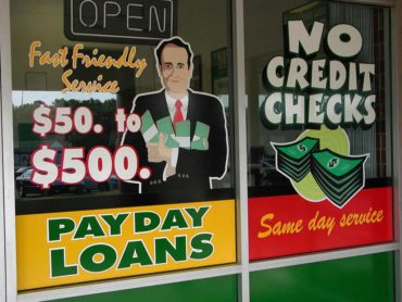 State To Study Storefront Loan Alternatives