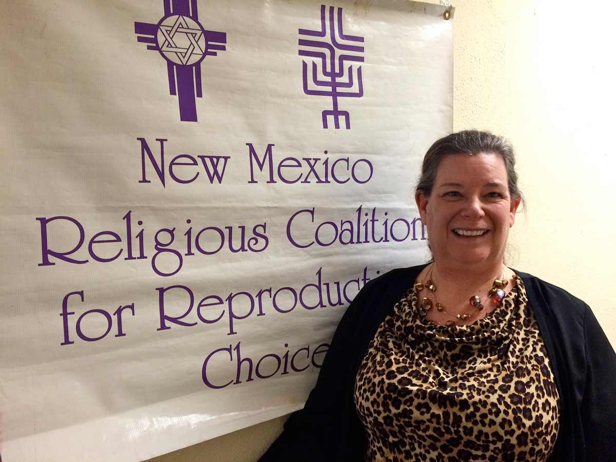 Joan Lamunyon Sanford, director of the New Mexico Religious Coalition for Reproductive Choice Marisa Demarco / KUNM