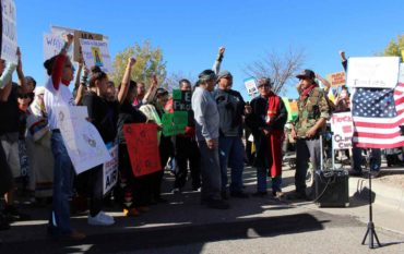 DAPL Protesters March In ABQ