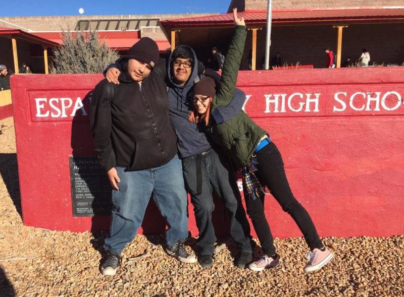 Española High School Students Hunger For Respect, Support